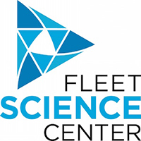 Fleet science center logo