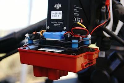 EmpowerUAV RedEdge Mounting Kit DJI Inspire